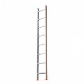 Лестница приставная 8 ступеней длина1,95м Ника