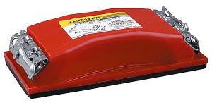 Брусок STAYER для шлифования, пластмассовый, 165х85 мм