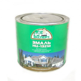 Эмаль НЦ-132М Эксперт красная 0,7 кг