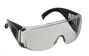 Очки защитные CHAMPION C1007 c дужками дымчатые
