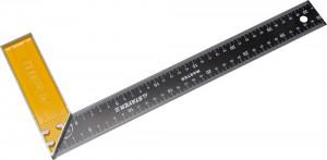 Угольник STAYER MASTER столярный стальное полотно 350 мм