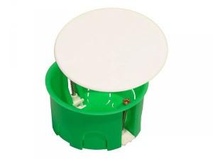Коробка разветвительная 80*45 мм с крышкой для полых стен
