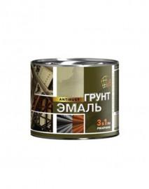 Грунт-эмаль 3в1 черная 1,9 кг Радуга