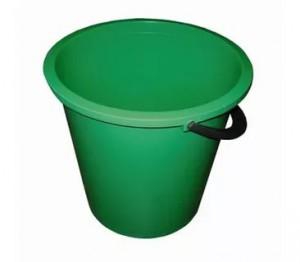 Ведро цветное 10 литров