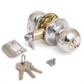 """Защелка AVERS 6072-01 CR (хром) ключ/фикс. """"Шарик"""""""