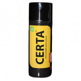 Эмаль термостойкая ЦЕРТА красно-коричневая (аэрозоль 0,52л)