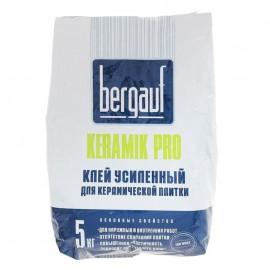 Клей Бергауф Керамик Про усиленный, 5кг
