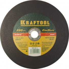 Диск отрезной KRAFTOOL 230*1,6*22,23мм по нерж.стали