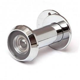 Глазок дверной Апекс 3016/70-110-CR хром латунь диаметр врезной части 16мм шторка