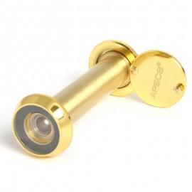 Глазок дверной Апекс 3016/70-110-G золото диаметр врезной части 16мм шторка