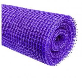 Сетка пластиковая Урожайная сотка 1*20м (15*15) Фиолетовая