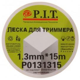 Леска P.I.T.  1,3мм*15м квадрат