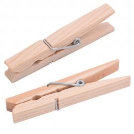 Прищепки для белья деревянные 20шт