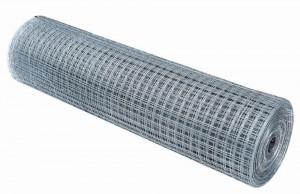 Сетка оцинкованная сварная, ячейка 25х25 d=1мм, 0,5*10м