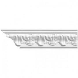 Плинтус потолочный стиропор 16012 1,3м