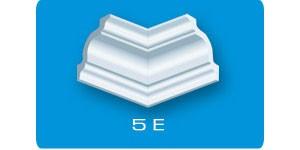 Угол внутренний стиропор Е5 (4 штуки) В 4597