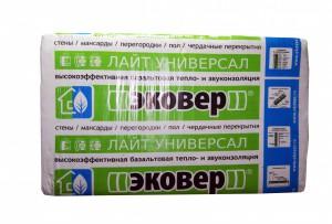 Эковер Вент-фасад П-80 1000*600*50мм ( 4,8 м2/уп, 0,24м3)