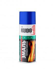 Эмаль термостойкая KUDO 5003 белая, 520 мл.