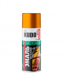 Эмаль универсальная металлик REFLECTIVE FINISH KUDO 1027 хром, 520 мл.