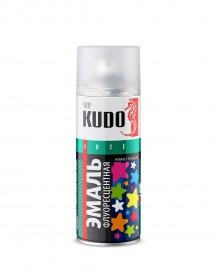 Эмаль флуоресцентная KUDO 1203 зеленая, 520 мл.