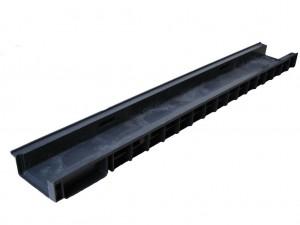 Лоток водоотводный  ЛВ-10.14,5.5,5-пластиковый 8050