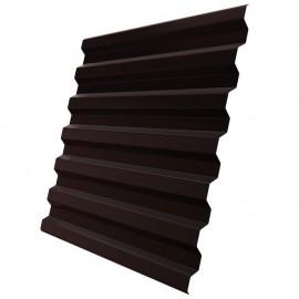 Профлист С8 шоколад (RAL 8017) 3000х1200х0,5