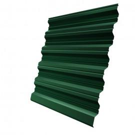 Профлист НС20 зеленый мох (RAL 6005) 2000х1150х0,5