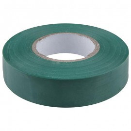 Изолента IEK ПВХ (0,13х15мм) зеленая, 20м