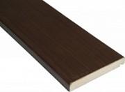 Наличник прямоугольный Квадро 10*70*2150 мм, Африканский орех, полипропилен