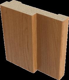 Короб дверной МДФ полукруглый Верда 28*70 мм, Миланский орех