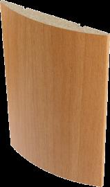 Наличник полукруглый Верда 10*70 мм, Миланский орех
