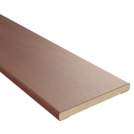 Доборный элемент МДФ BROZEX-WOOD 10*100*2100 мм, Итальянский орех