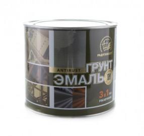 Грунт-эмаль по ржавчине 3 в 1 Радуга коричневая 1,9кг