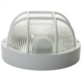 Светильник светодиодный ДПП 01-16-003 16Вт круг с решеткой.