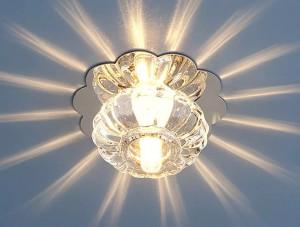 Светильник ES SD 847 G4 WH хром, белый.