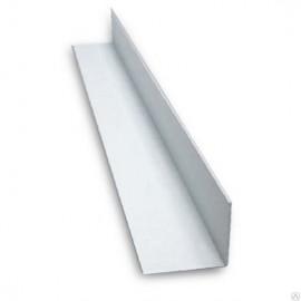 Угол накладной ПВХ (50*50*3000мм) Белый