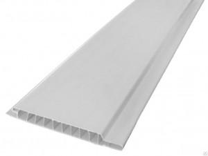 Панель ПВХ, белая матовая (2700*250* 9мм)