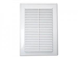 Решетка вентиляционная без сетки (200*300 мм), пластик