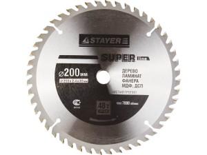 Диск пильный STAYER MASTER SUPER-Line 200*30мм 48Т по дереву