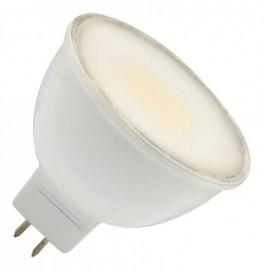 Лампа светодиодная 5 Вт 230В GU5.3 d=51mm, термопластик, холодный белый