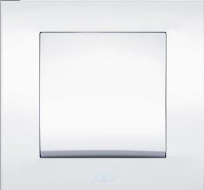 Выключатель 1-клавишный белый Cosmo