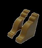 Уголок торцевой вишня для КМС 0330