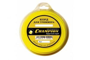 Струна CHAMPION Round 4.0мм*95м круглая (желтая)