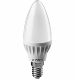 Лампа светодиодная OLL-C37-6-230-4K-E27-FR Navigator