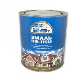 Эмаль ПФ-115 М ЭКСПЕРТ глянцевая салатовая 2,7кг