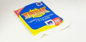 Мешки для мусора КРЕПАК 20л, 30шт. (с ручками)