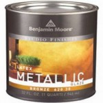 Покрытие Benjamin Moore Latex Metallic Glaze Gold 620 10 , 949 мл.