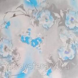 Панель ПВХ голография 68037-23 Фиалка голубая 2700*250*10мм