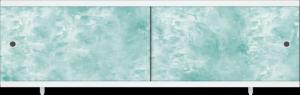 """Экран под ванну """"Ультра Легкий"""" изумруд 1,68 м"""