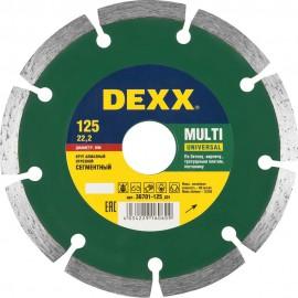 Диск отрезной алмазный DEXX 230*7*22,2мм УНИВЕРС.РЕЗ